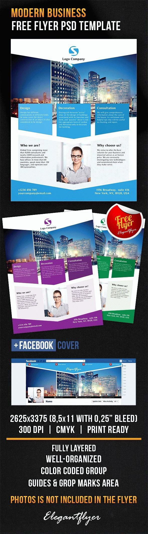 Facebook Ad Template Psd Lovely Download Modern Business Cover Psd Template