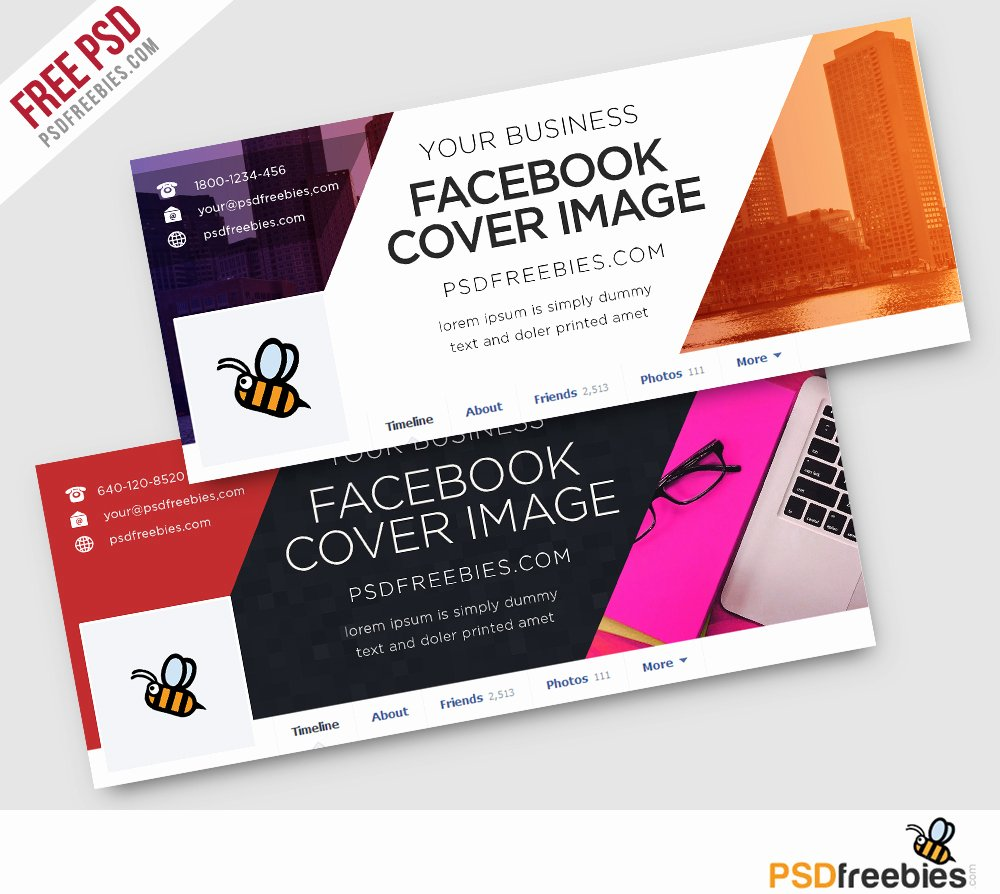 Facebook Ad Template Psd Luxury Corporate Covers Free Psd Template