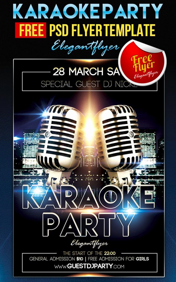 Facebook Ad Template Psd New 31 Free Party & Club Flyer Templates