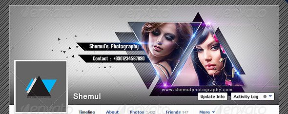 Facebook Cover Photoshop Template Awesome 40 Premium Timeline Cover Templates