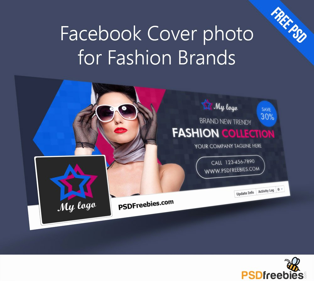 Facebook Cover Photoshop Template Fresh Timeline Covers Free Psd Psdfreebies