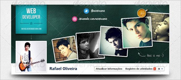 Facebook Cover Photoshop Template Inspirational 18 Amazing Psd Timeline Cover Templates