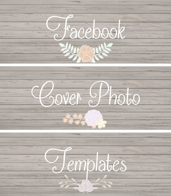 Facebook Cover Photoshop Template Lovely Chic Cover Templates
