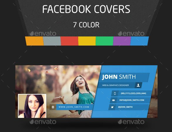Facebook Cover Template Psd Inspirational Psd Template – 8 Free Samples Examples format