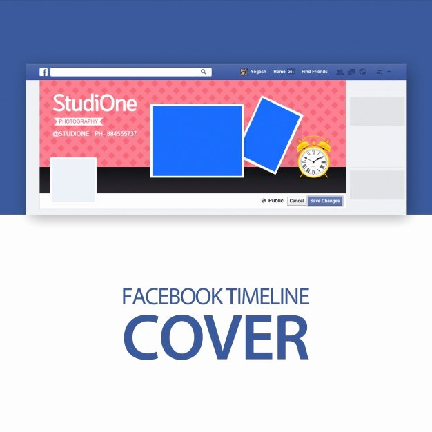 Facebook Cover Template Psd Lovely Cover Template Psd File