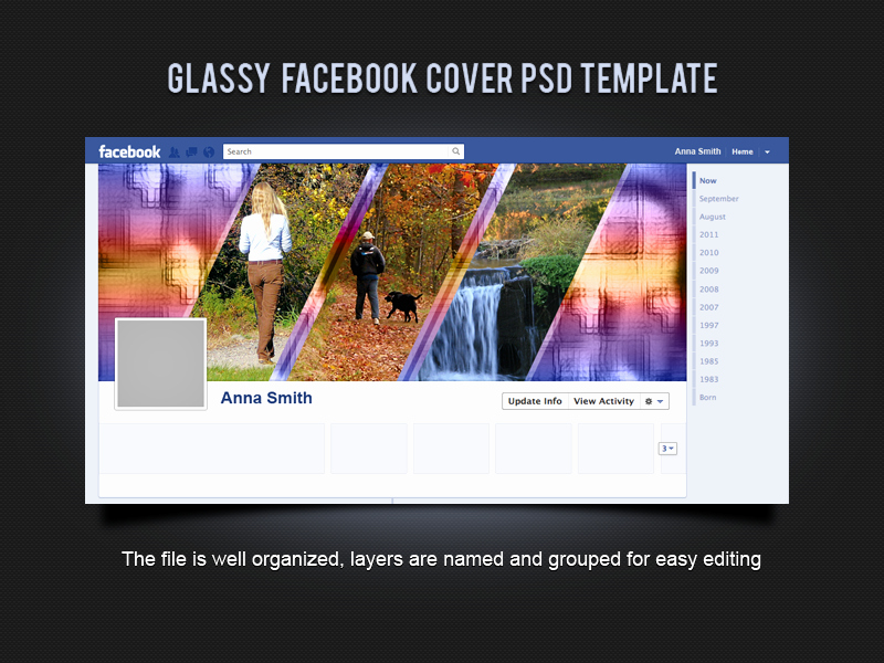 Facebook Cover Template Psd Luxury Glassy Cover Psd Template by Xara24 On Deviantart
