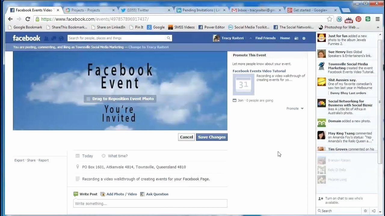Facebook event Photo Template Luxury How to Create A Page event and Add A Banner Image
