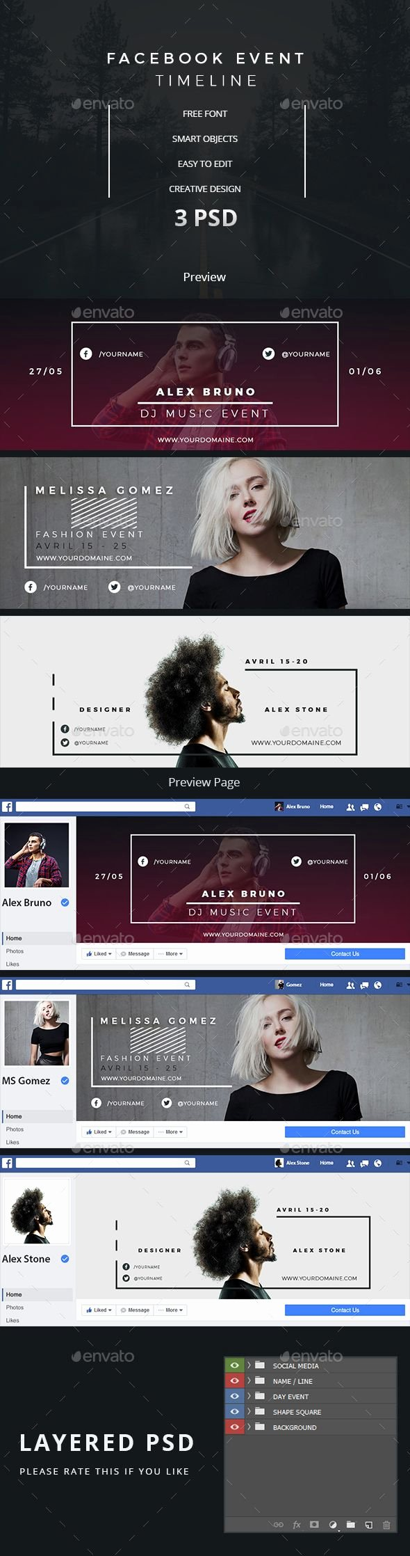 Facebook event Photo Template Unique Best 25 Dj Music Ideas On Pinterest