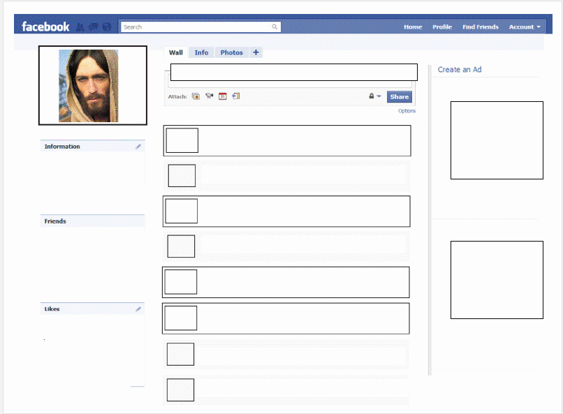 Facebook Page Template Pdf Fresh A Woman In Youth Ministry if Jesus Had A Freebie