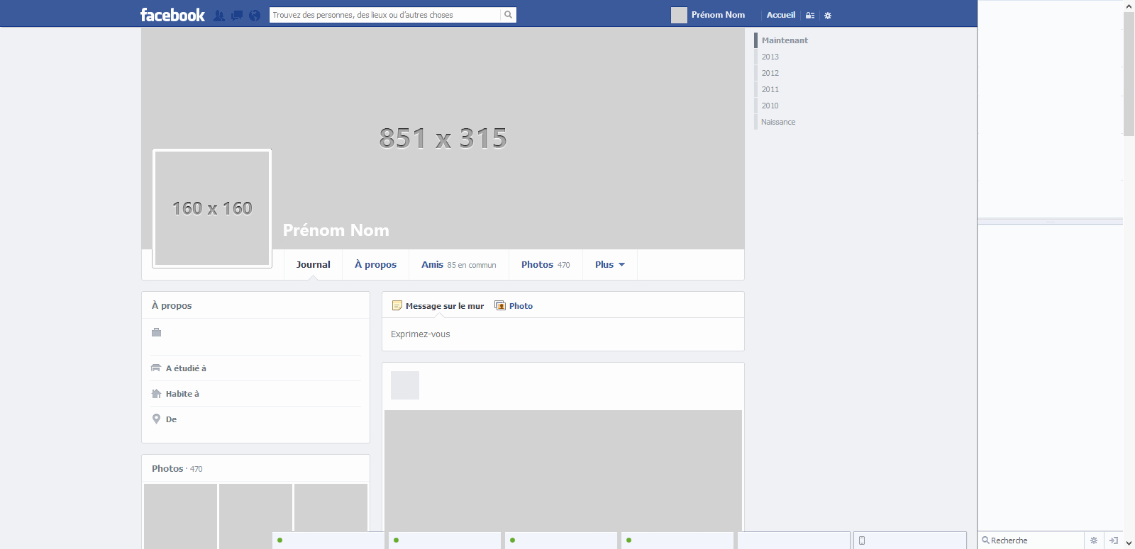 Facebook Page Template Pdf Lovely Blank Template