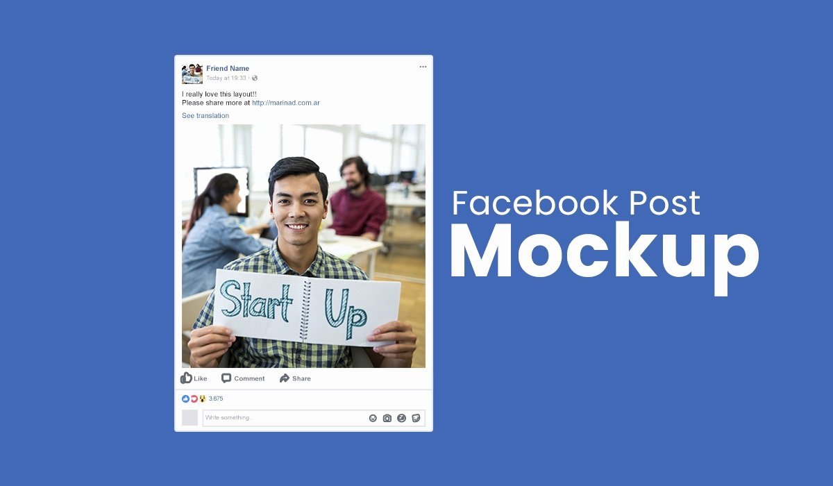 Facebook Post Template Psd New Mockup Post Template Psd social Media Mockup
