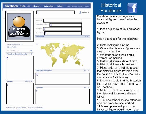 Facebook Profile Page Template Luxury A Wonderful Free Template for Teachers