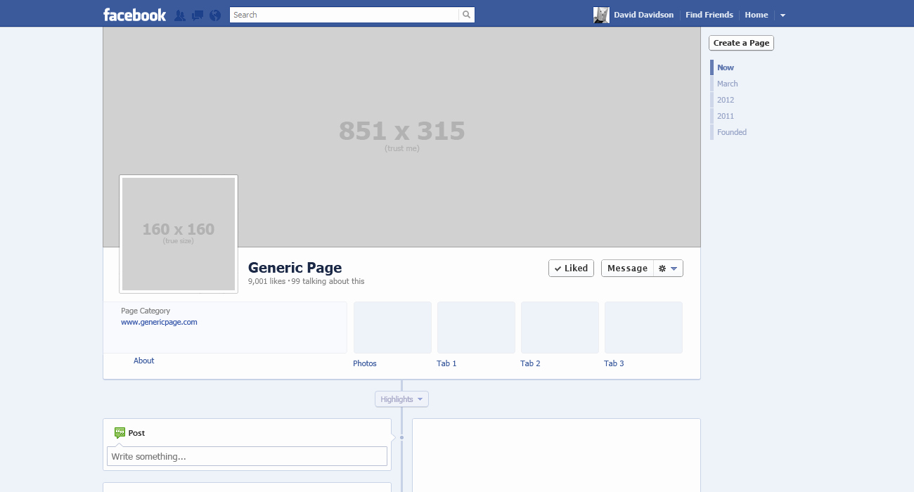 Facebook Profile Page Template Luxury Best S Of My Template