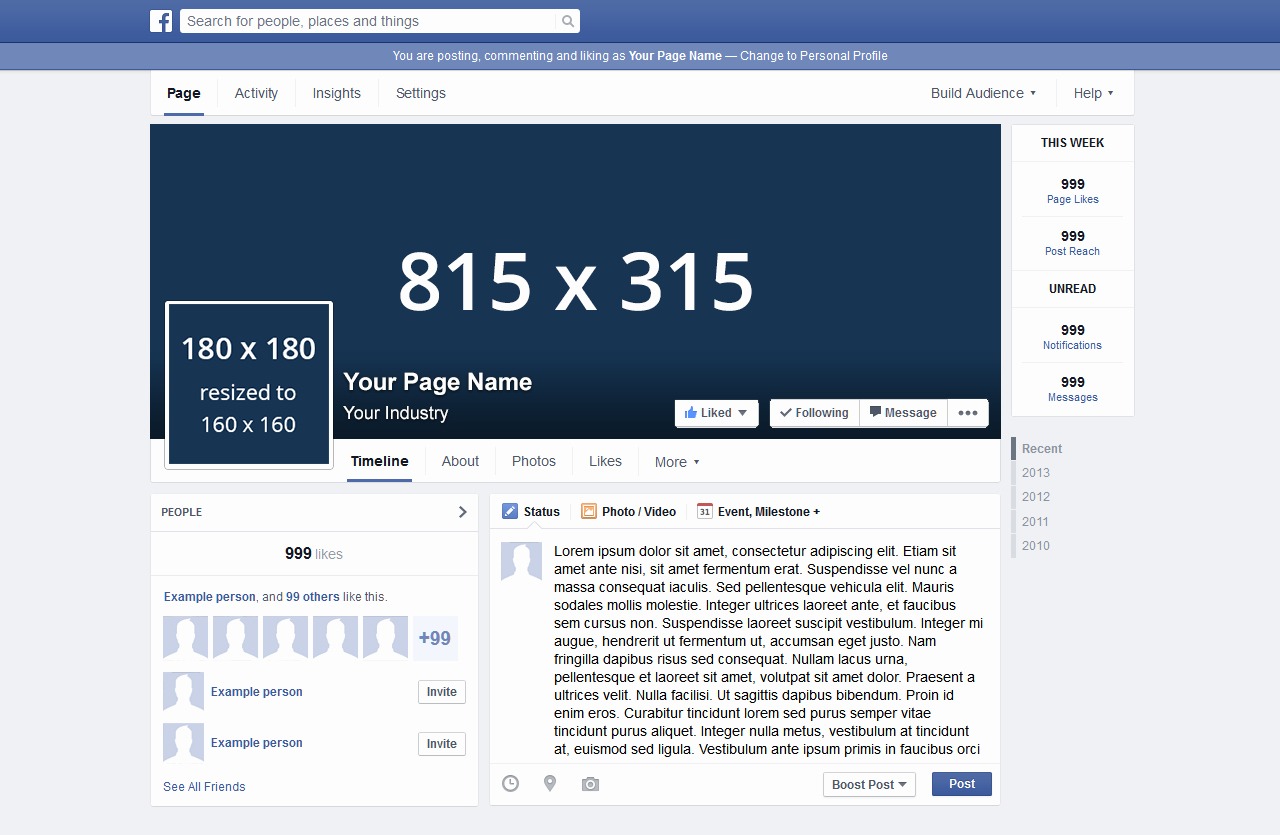 Facebook Profile Page Template New 7 Tips to Numerous Likes On socioboard Blog