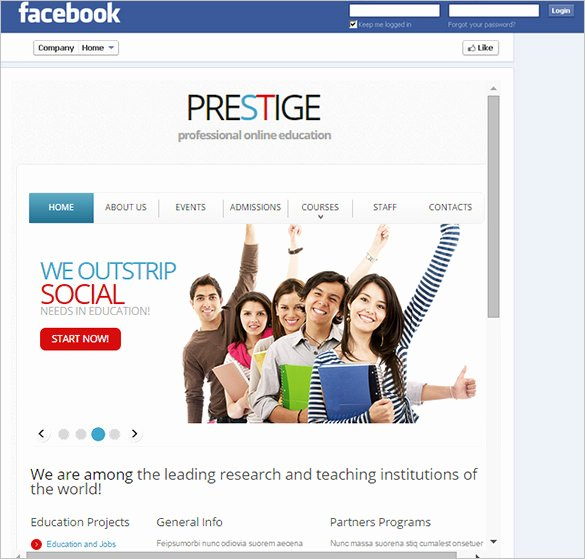 Facebook Template for Students Awesome Template – 49 Free Word Pdf Psd Ppt format