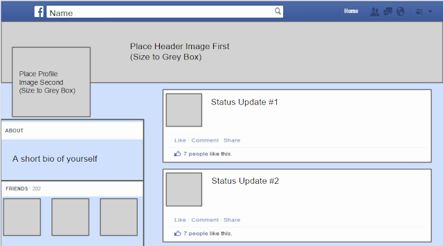 Facebook Template for Students Beautiful Template for Students