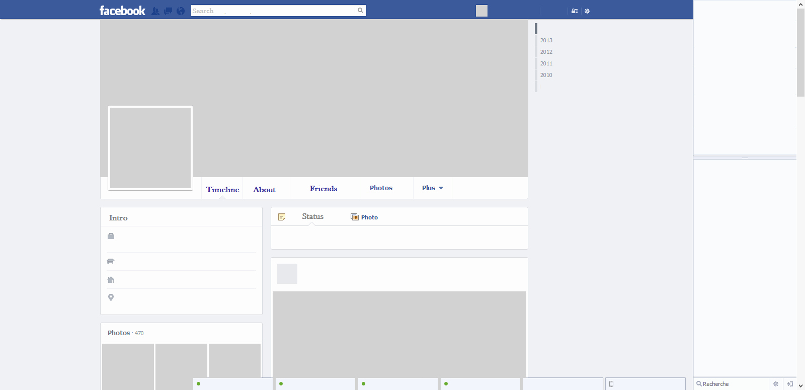 Facebook Template for Students Inspirational Clean Template thespod