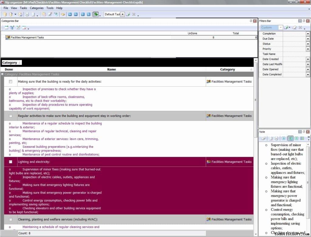 Facility Maintenance Plan Template Beautiful 7 Facility Maintenance Checklist Templates Excel Templates