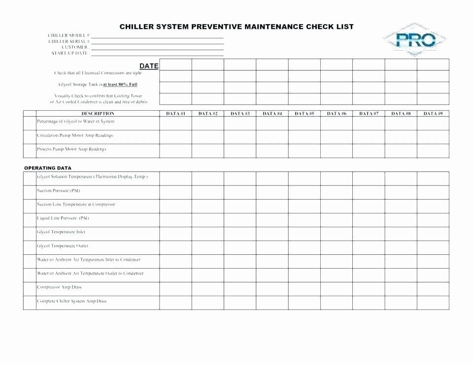 Facility Maintenance Plan Template Beautiful 99 Building Maintenance Schedule Excel Template