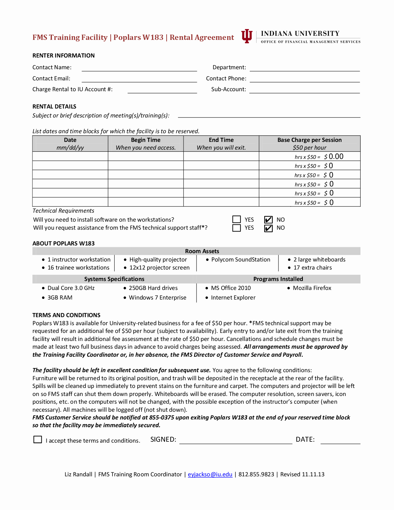 Facility Rental Agreement Template Awesome 10 Best Of Facility Rental Agreement Template