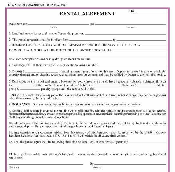 Facility Rental Agreement Template Fresh Sports Facility Rental Agreement Template Free event