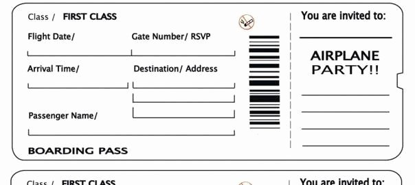 Fake Airline Ticket Template Fresh Fake Concert Ticket Template to Pin On Pinterest
