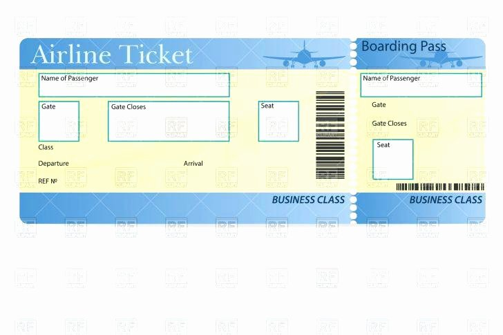 Fake Airline Ticket Template Fresh Fake Emirates Air Page Create Airline Ticket Make A