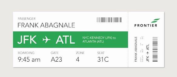 Fake Boarding Pass Template Beautiful Boarding Pass Template