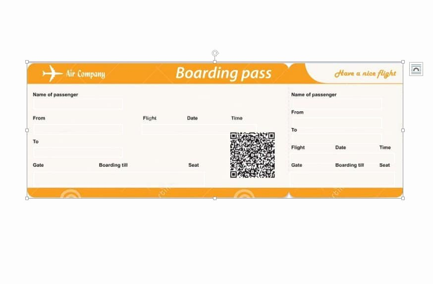Fake Boarding Pass Template Fresh 16 Real & Fake Boarding Pass Templates Free