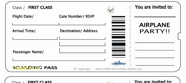 Fake Boarding Pass Template Fresh Fake Boarding Pass Boarding Pass Template Free 16 Real