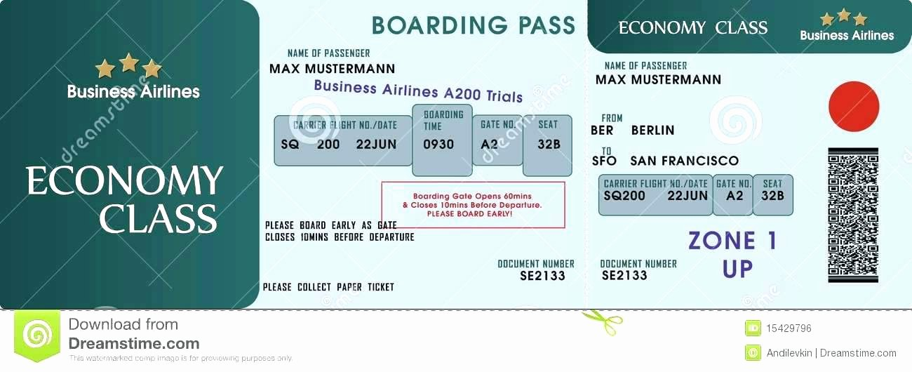 Fake Boarding Pass Template Unique Make Your Own Boarding Pass Save the Date Template Codes