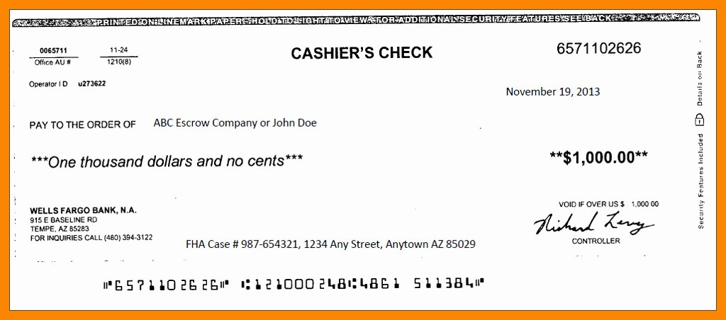 Fake Cashiers Check Template Fresh Fake Cashiers Check Template 9 Reinadela Selva