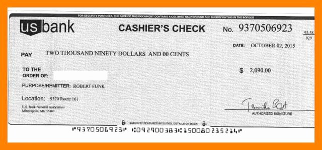 Fake Cashiers Check Template Inspirational Fake Cashiers Check Template Filename