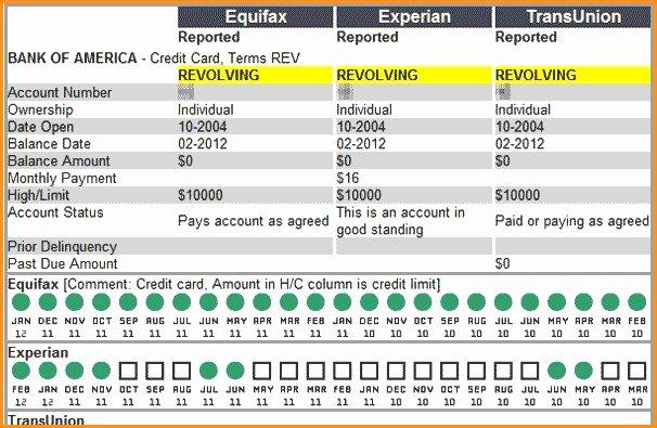 Fake Credit Report Template Beautiful Fake Credit Report Template Lorgprintmakers