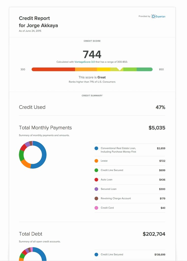 Fake Credit Report Template Inspirational Cozy Credit Reports Credit and Background Check Site for