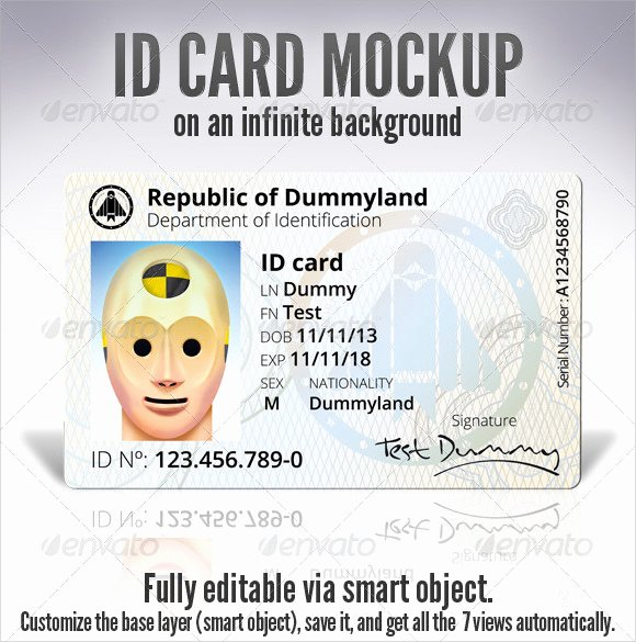 Fake Id Template Download Best Of Id Card Template 19 Download In Psd Pdf Word