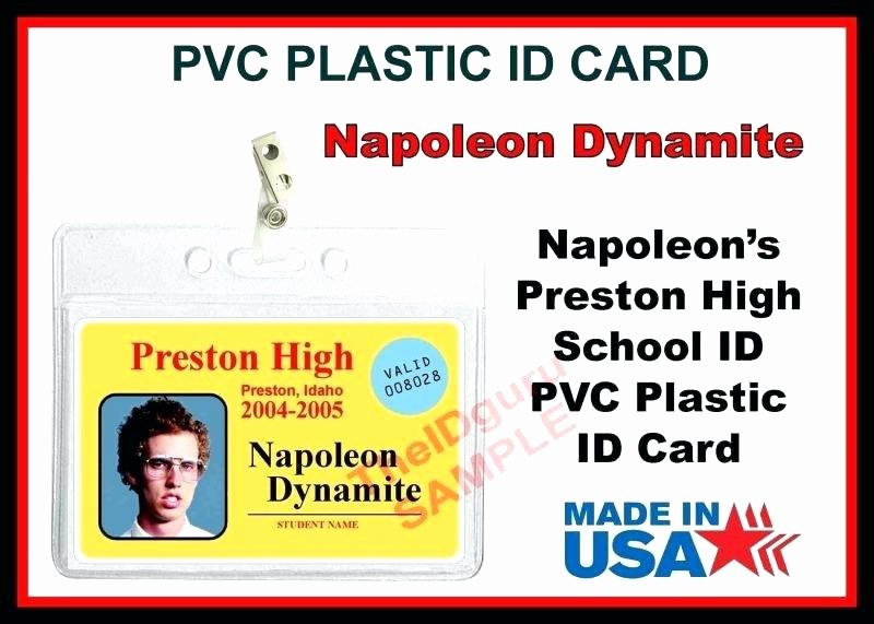 Fake Id Template Download Elegant Id Template