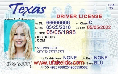 Fake Id Template Download Elegant Texas Drivers License Template Beepmunk