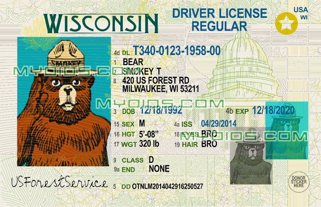 Fake Id Template Download Luxury Free Fake Id Templates