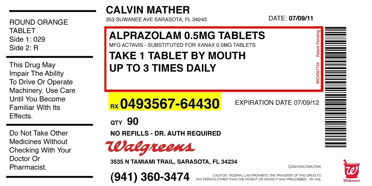 Fake Prescription Label Template Awesome Prescription Label Template Invitation Template