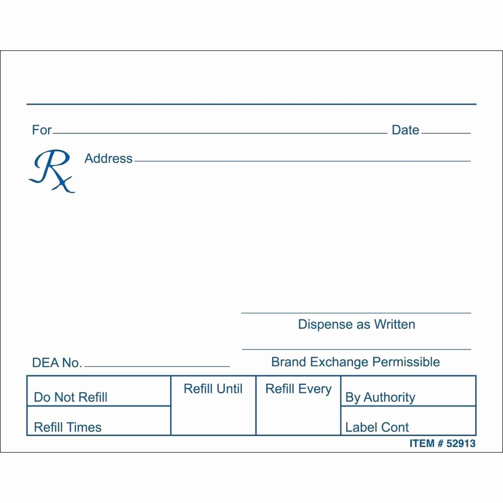 Fake Prescription Label Template Elegant Fake Prescription Label Template
