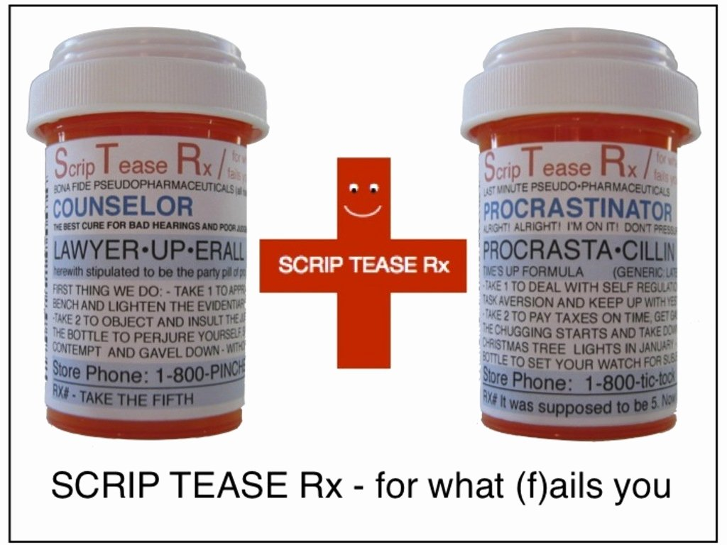 Fake Prescription Label Template Inspirational Funny Personalized Fake Prescriptions for Modern Life by
