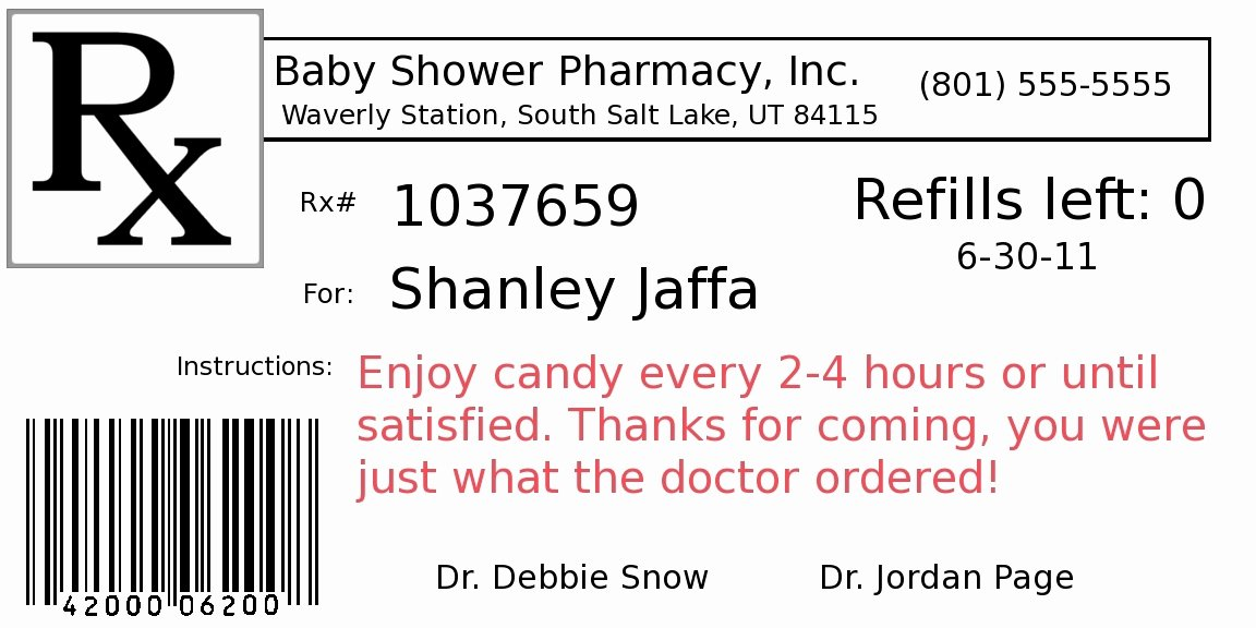 Fake Prescription Label Template Unique Blank Prescription Bottle Label Template Templates