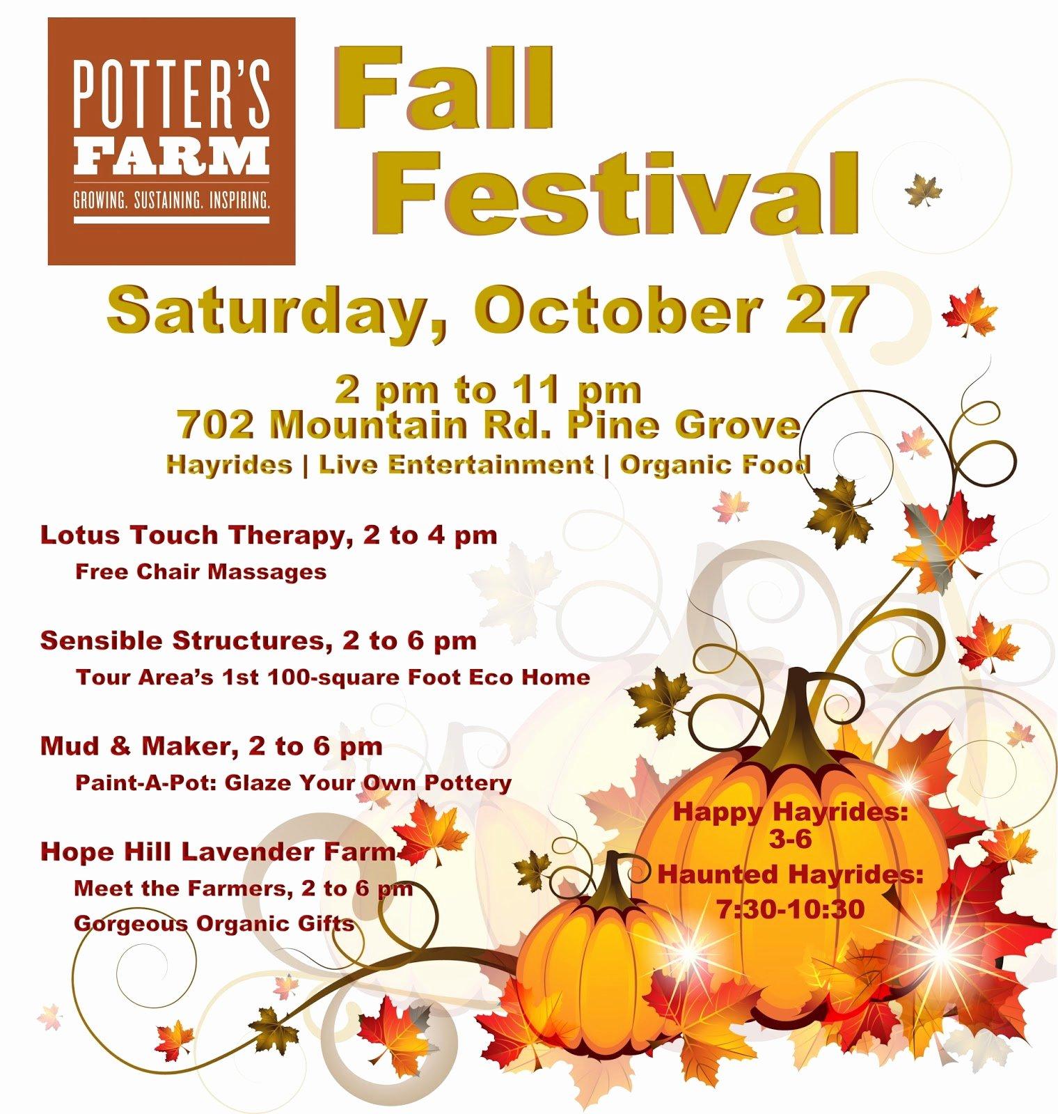 Fall Fest Flyer Template Beautiful 19 Free Fall Festival Flyer Template Psd Fall