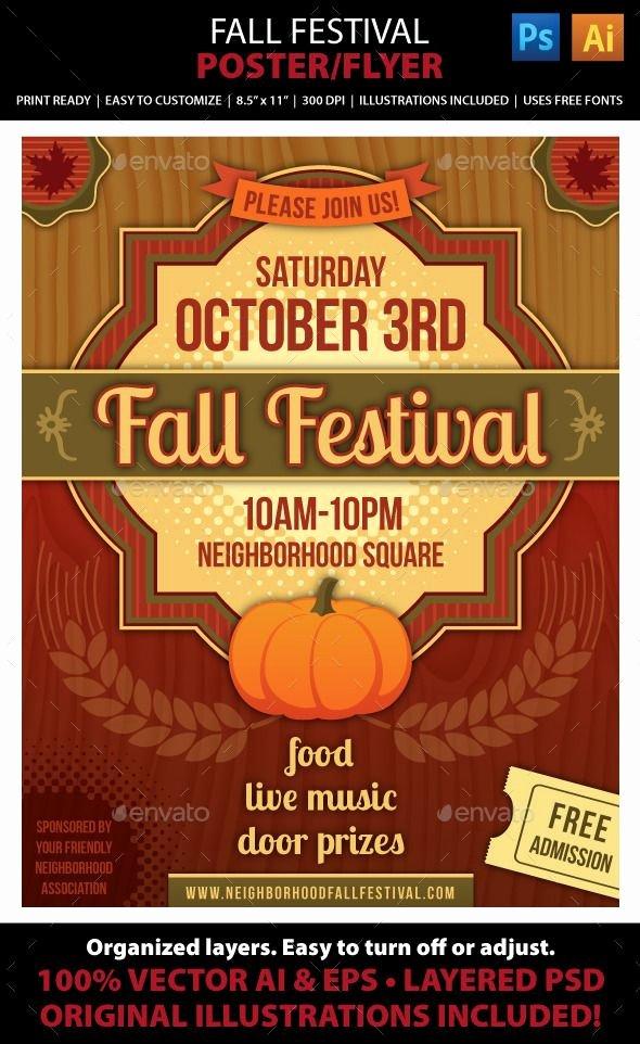 Fall Fest Flyer Template Unique 21 Best Fall Festival Images On Pinterest