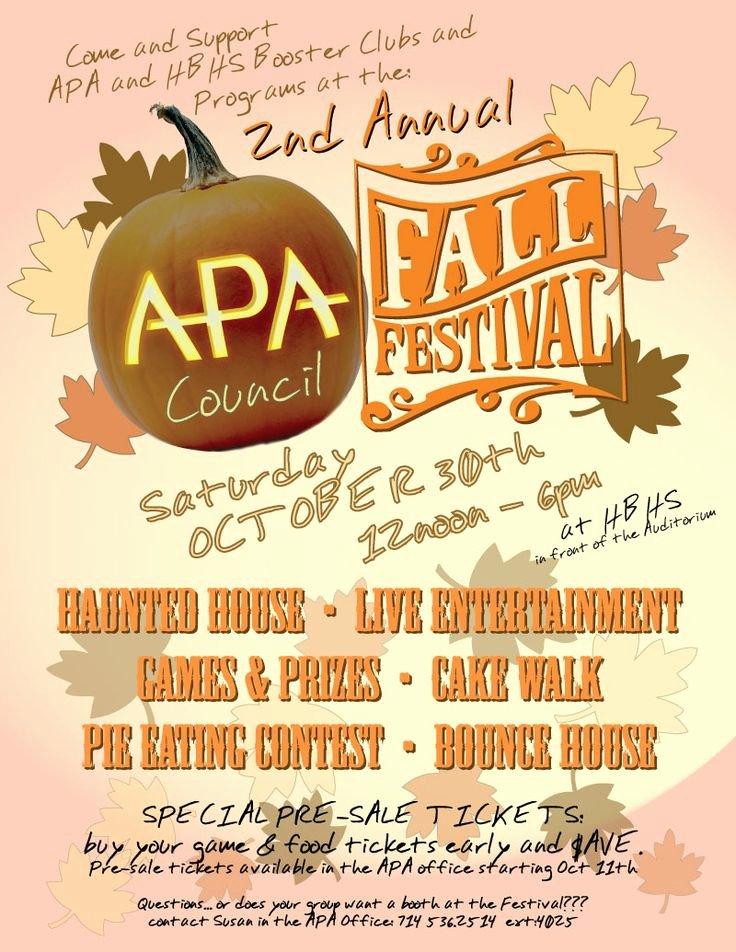 Fall Fest Flyer Template Unique Fall Festival Flyer Template Google Search