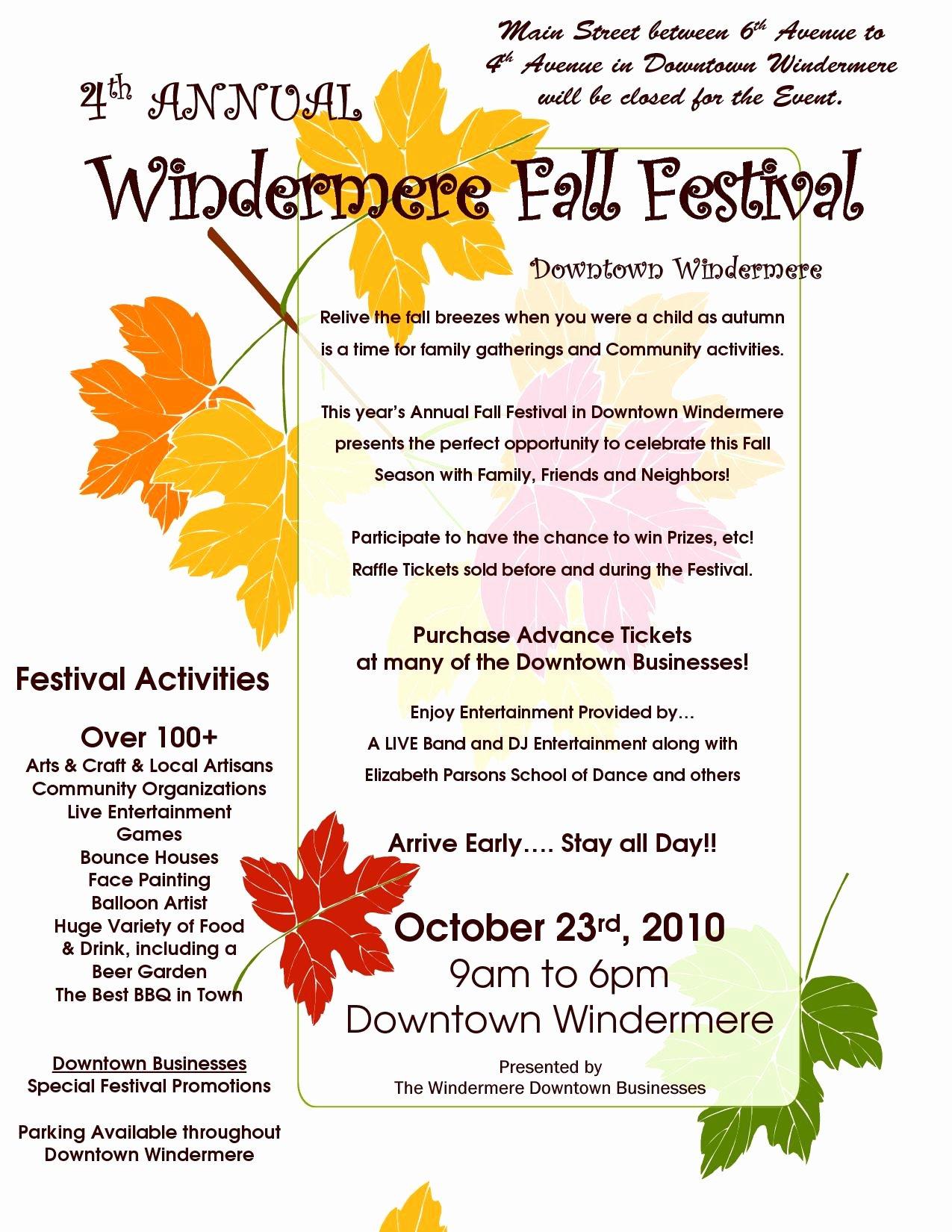 Fall Fest Flyer Template Unique Vistaprint Wiki