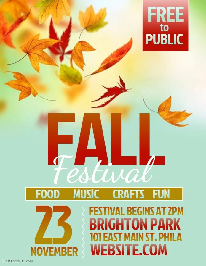 Fall Festival Flyer Template Awesome Best 25 Flyer Template Ideas On Pinterest