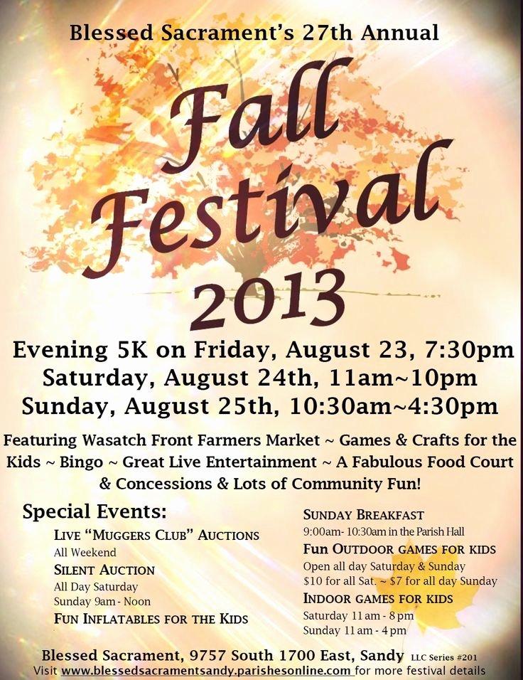 Fall Festival Flyer Template Beautiful Fall Festival Flyer Template Google Search