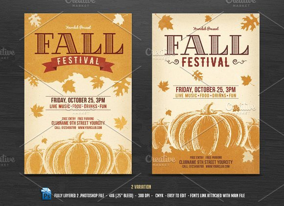 Fall Festival Flyer Template Best Of Fall Festival Flyer Template Flyer Templates Creative